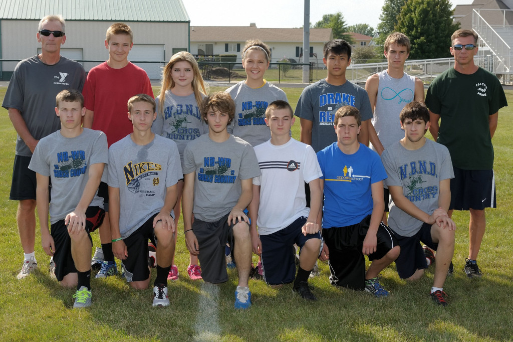 Arranged by Studio K, Photo by Dan Hockett Front (l-r): Logan Reich, Jonathan Gavin, Travis Hostetter, Rooks DeRosear, Micah Gnann, Tristan Garcia. Back (l-r): Asst. Coach Steve Myrtue, Ethan Moeller, Alexis Hawley, Maggie Brueck, Keven Chng, Baron West, Coach Mike Moffett. Not pictured: Alia Perkins, Aundrea Perkins.