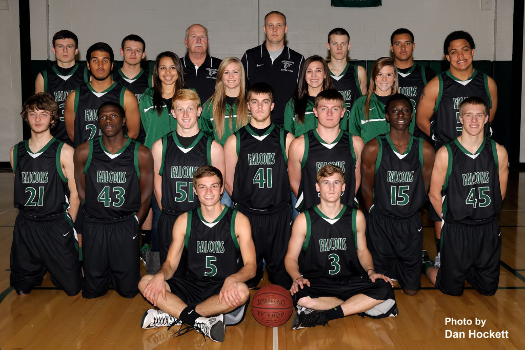 Photo by Dan Hockett Front (l-r): Brant Wrede, Tanner Stainbrook. Row 2 (l-r): Travis Hostetter, Shamonta McNeal, Hayen Wilson, Clay Siefken, Springer DeRosear, Neiko Selmon, Grant Riley. Row 3 (l-r): Christian Ramos, Manger Dayton Elliott, Manager Kelci Hill, Manager Olivia Thompson, Manager Riley Hale, Jerod Lewis. Back (l-r): Kyle Rokosz, Jarod Fogle, Asst. Coach Rick Raleigh, Head Coach Ryan Shelman, Logan Reich, Da'Shon Johnson. Not pictured: Tyson Abbott, Asst. Coach Kevin Bush.