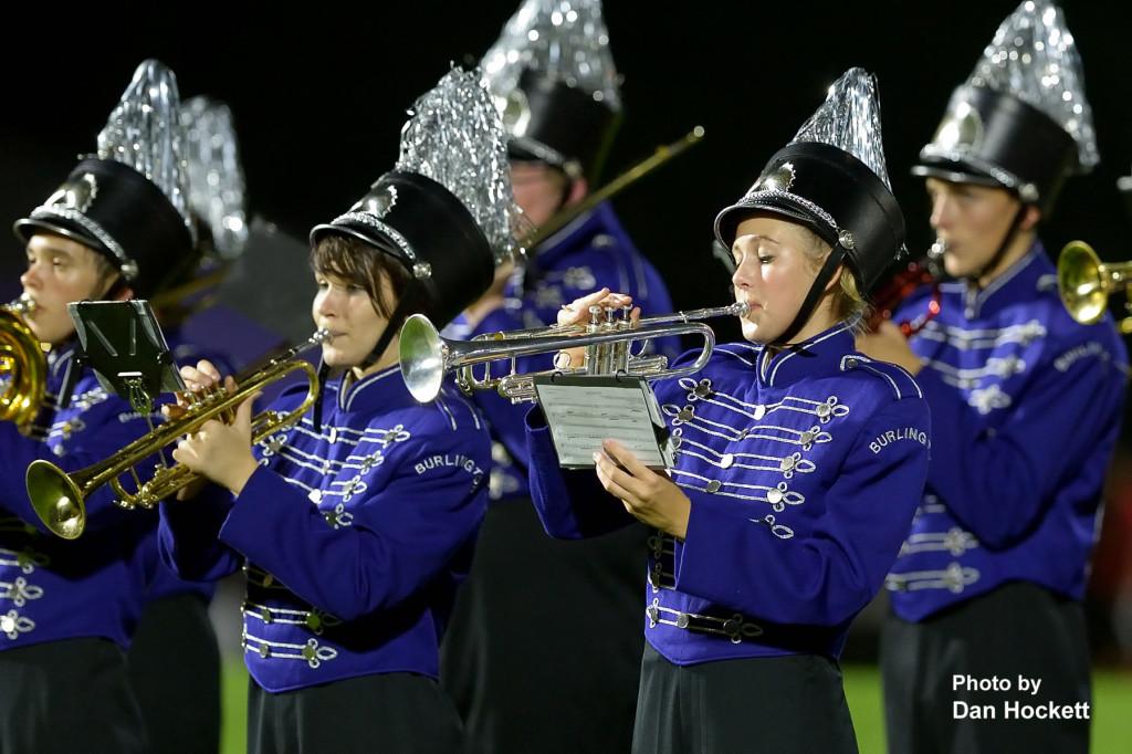 Burlington High School Marching Band Members