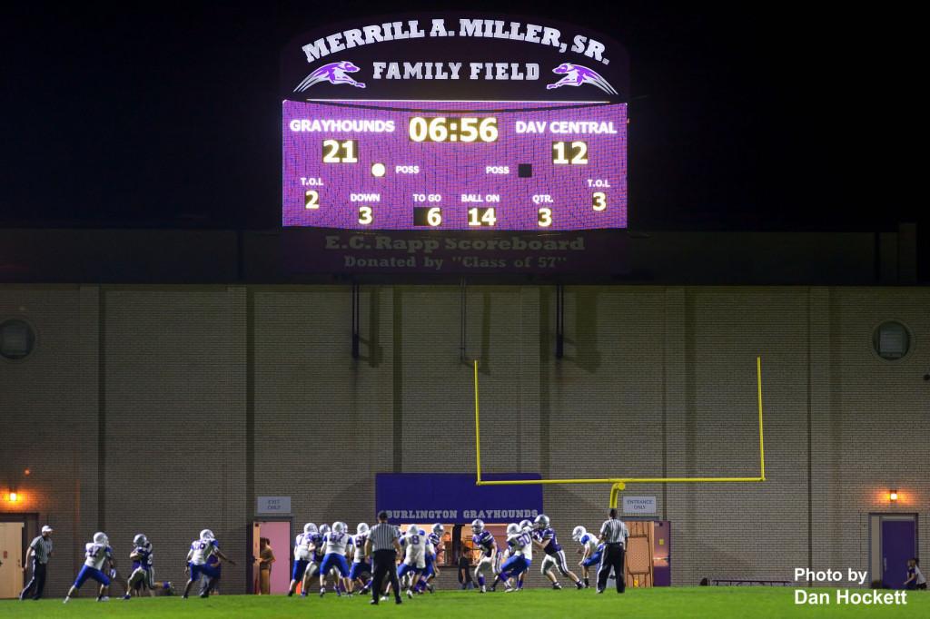 Bracewell Stadium New Scoreboard