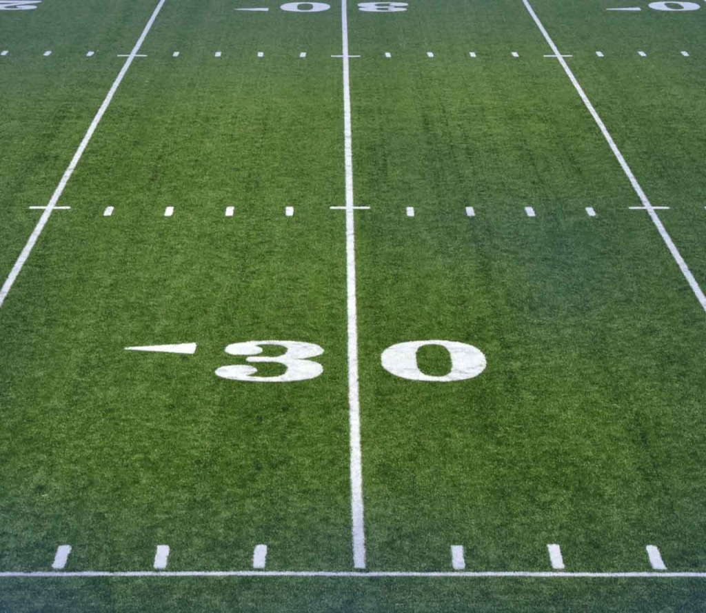 Artificial Turf football-field