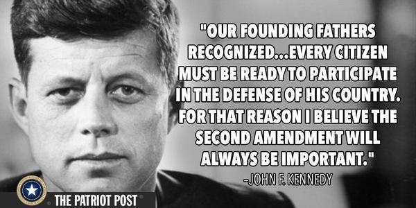 JFK Kennedy Second Amedment